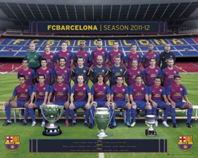 Barcelona  - Team Photo 11-12