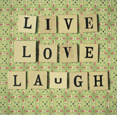 Live Laugh Love Picture Frames on Live Love Laugh By Cassia Beck Art Print   Worldgallery Co Uk