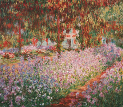 The Garden Of Monet At Giverny