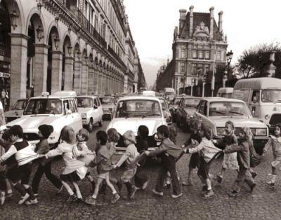 Les tabliers de la rue de Rivoli, 1978