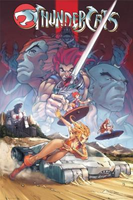 Thundercats Comic on Thundercats   Comic By Maxi Poster   Worldgallery Co Uk