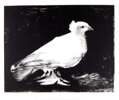 Small Dove (Silkscreen print)