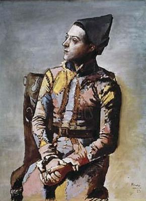 Portrait of a Harlequin