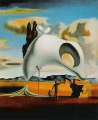 Vestiges ataviques aprés le pluie by Salvador Dali Art Print ...