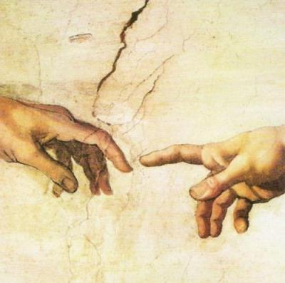Michelangelo the creation of adam detail 84212 jpg