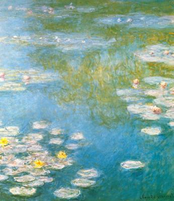 monet water lilies  print