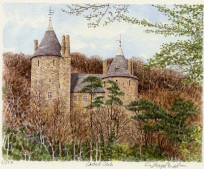 "Фанарт по ""Самой плохой ведьме"" - Страница 3 Glyn-Martin-Cardiff---Castell-Coch-94933"