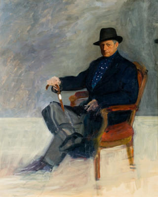 Portrait of Munnings