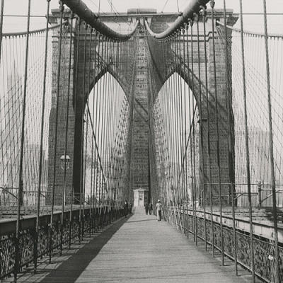 The Brooklyn Bridge, Sunday AM