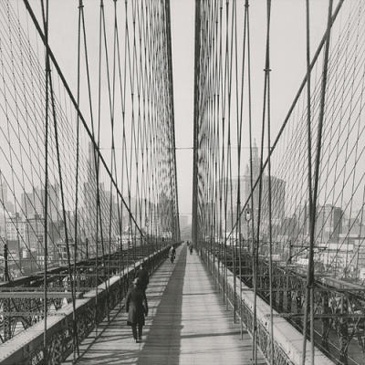 The Brooklyn Bridge, Sunday PM